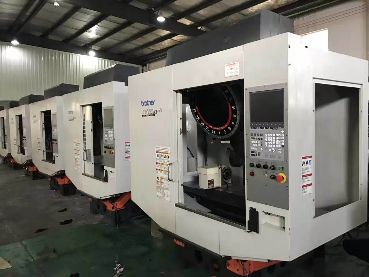 Japanese Made Used Second Hand Small Vetical Milling Machine (brother)