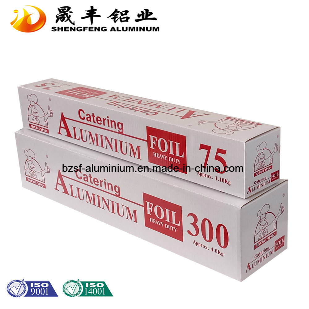 OEM Heavy Duty Aluminum Foil for Food Packing