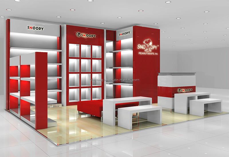 China Display Shelf Garment Rack Store Display supplier