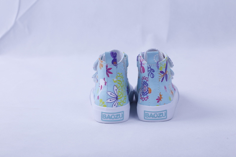 Vulcanized Shoes Nature Rubber Fashion for Girls Bz1605