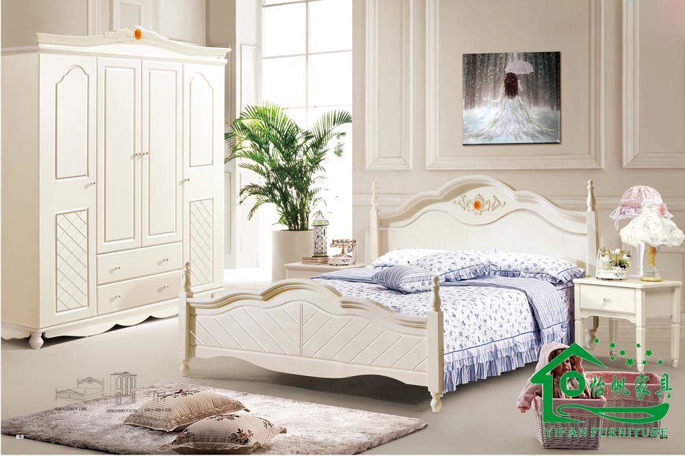 Muebles del dormitorio de los niños/cama de madera del niño (YF