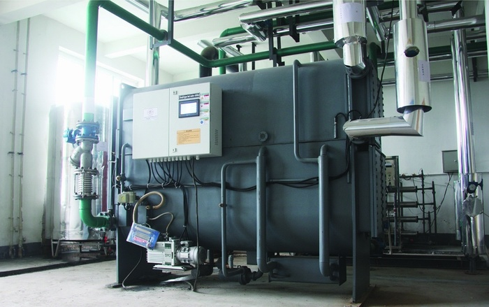 Hot Water Operated Lithium Bromide Absorption Chiller