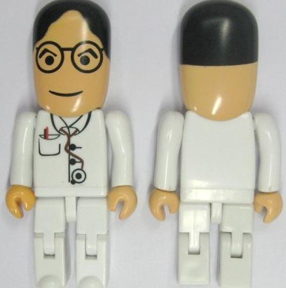 Doctor Nurse Custom USB Pen Drive People USB Driver