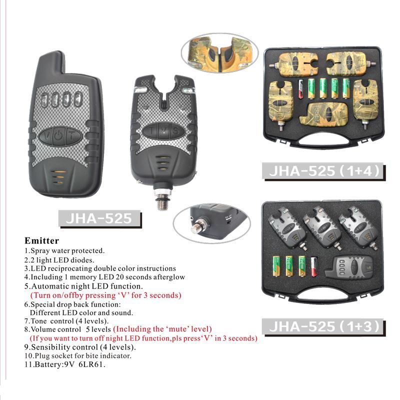 Hot Selling Cheap Wireless Fishing Bite Alarm