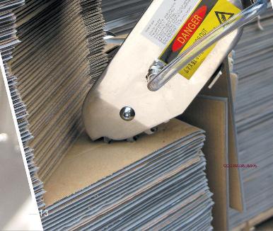 Air Carton Cardboard Stripping Machine