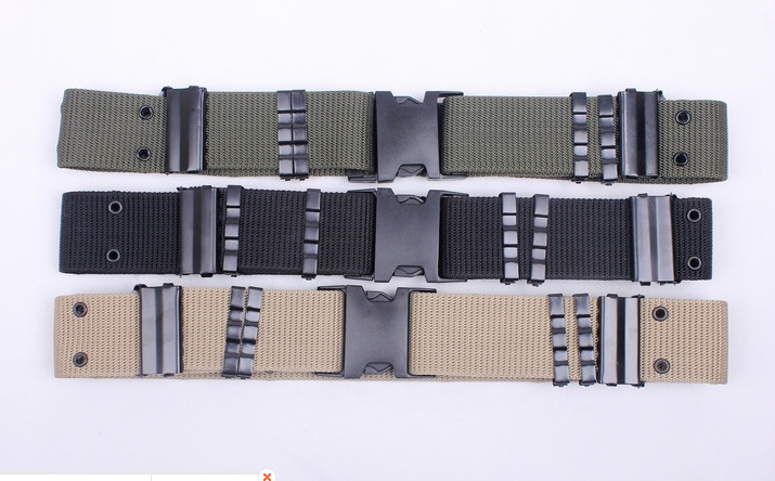 High Quality Police Black Hawk Rappel Belt