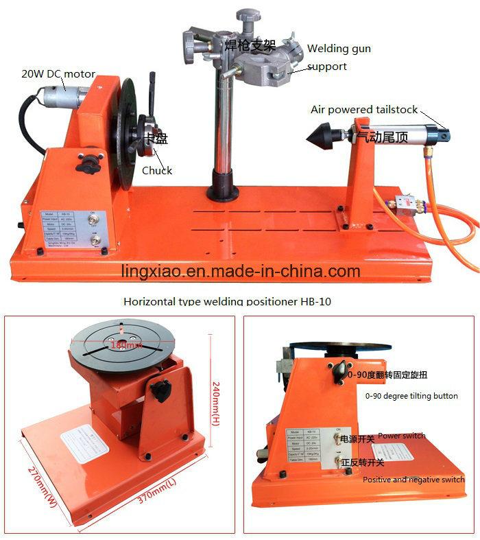 Welding Chuck Kda-600 for Welding Positioner′s Clamping
