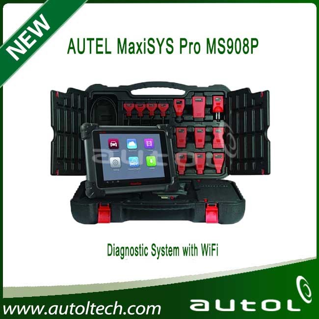 Auto Car Diagnostic Machine Autel Maxisys 908P J2534 Interface and ECU Coding