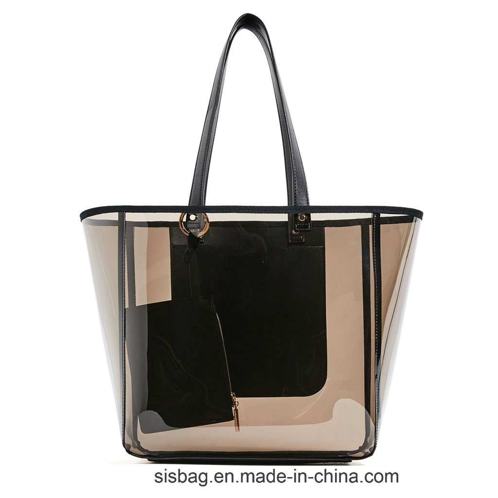 Promotion Transparent Color Shopping Bag Clearly PVC Beach Bags