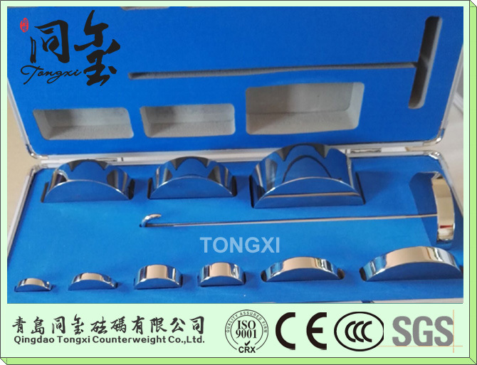 Stainless Steel F1 Test Weight 5kg-1kg