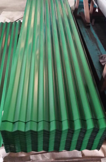 0.125-0.8mm Building Material Galvanized Corrugated Steel Sheet Roofing Sheet