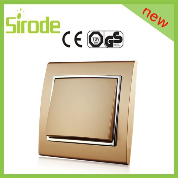 China Golden Modern Home Decoration Electrical Waterproof Modular Switches