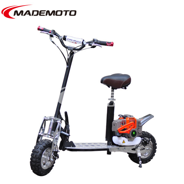 Gas Scooter with Three Speed
