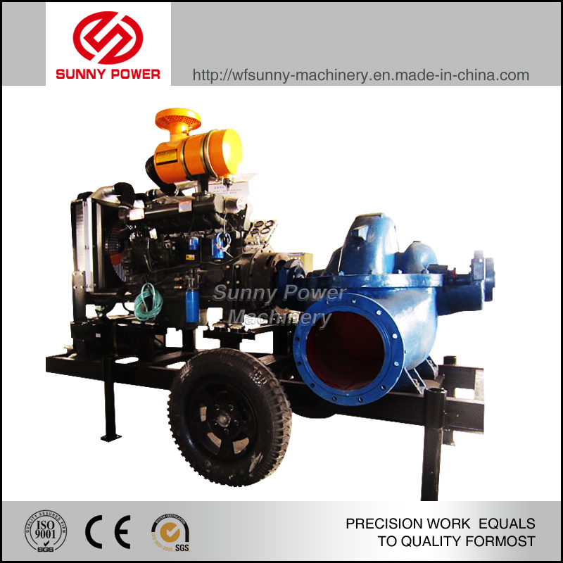 High Quality Diesel Water Pump for Agricultural Irrigation with Big Outflow Appied in Kenya