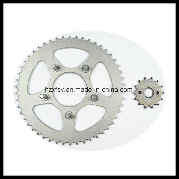 Plated Motorcycle Sprocket