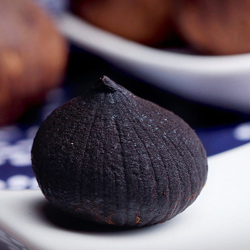 Natural Good Taste Fermented Peeled Single Black Garlic (1kg/bag)