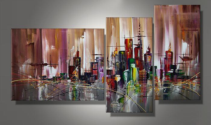 Abstract Oil Pianting for Home Decoration