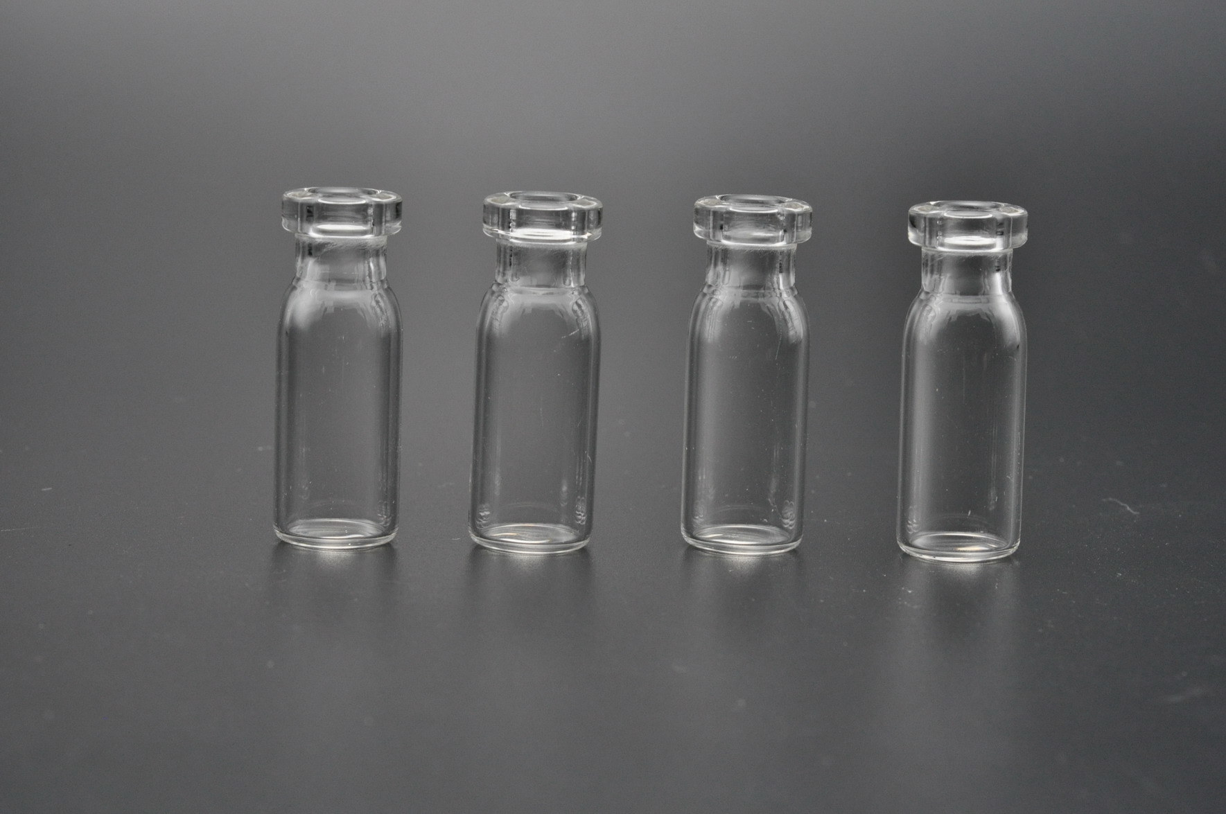 3ml Clear and Amber Glass Vials with Crimp Finish