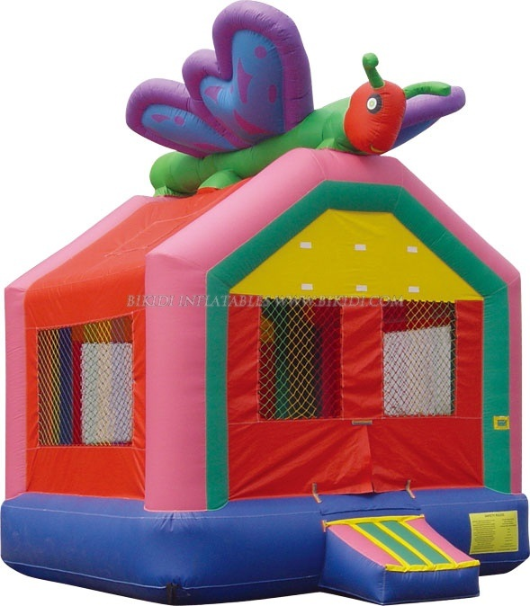 Kids Bouncy Castle Inflatable Jumper, Inflatable Bouncy Butterfly (B1037)