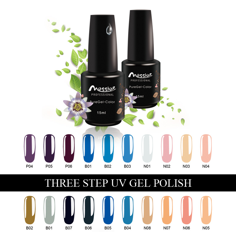 Easy Soak off 15ml UV Gel Polish Nail Gel Color Nail Art