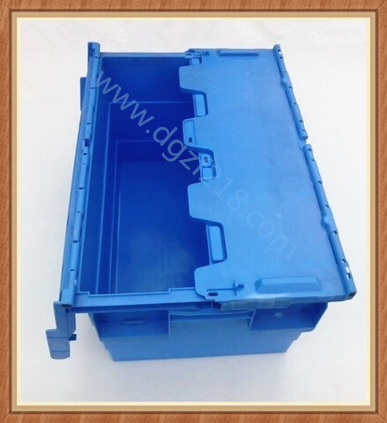 Superior Quality Burglarproof Plastic Logistic Box with Lid for Storage