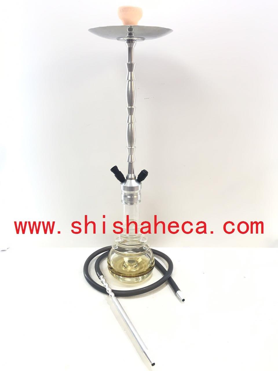 Wholesale Good Quality Aluminum Nargile Smoking Pipe Shisha Hookah