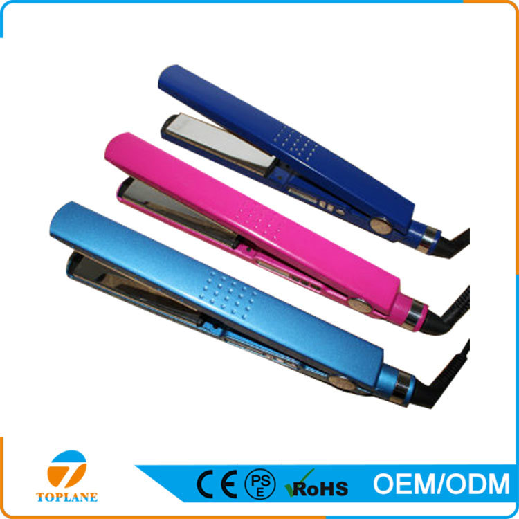 Ceramic Flat Iron Fast Heating LCD Display Hair Flat Iron for Hair Straightener