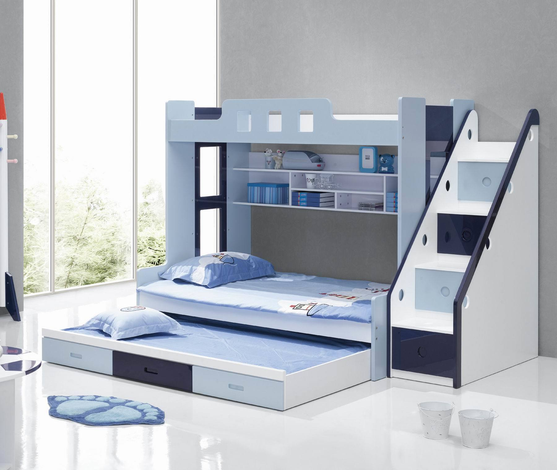 China Bunk Bed QSJ A2100 China Bed Bed Set