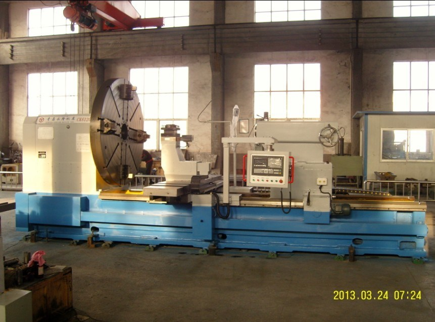 CNC Lathe with Turning Diameter 2000mm (CK61200)