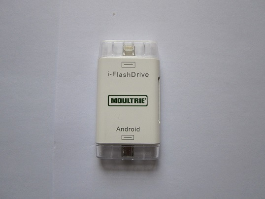 I-Flashdrivehd TF/SD Memory Card Reader Adapter for Android and Apple Phone (OM-P902)