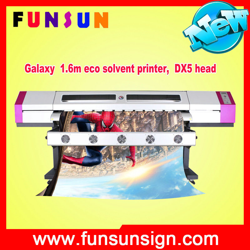 Galaxy 5FT / 6FT Original Dx5 Print Head Galaxy Eco Solvent Printer 1440dpi