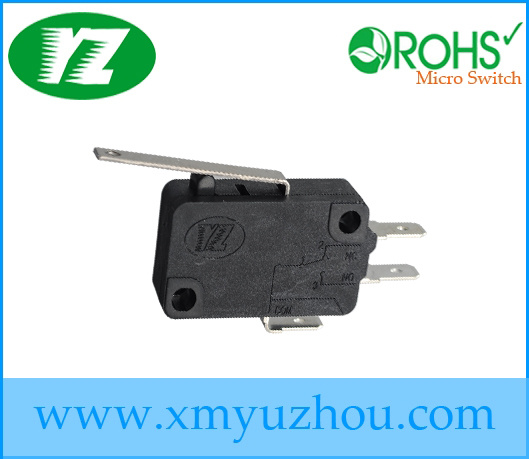 16A Short Lever Normally Open Micro Switch