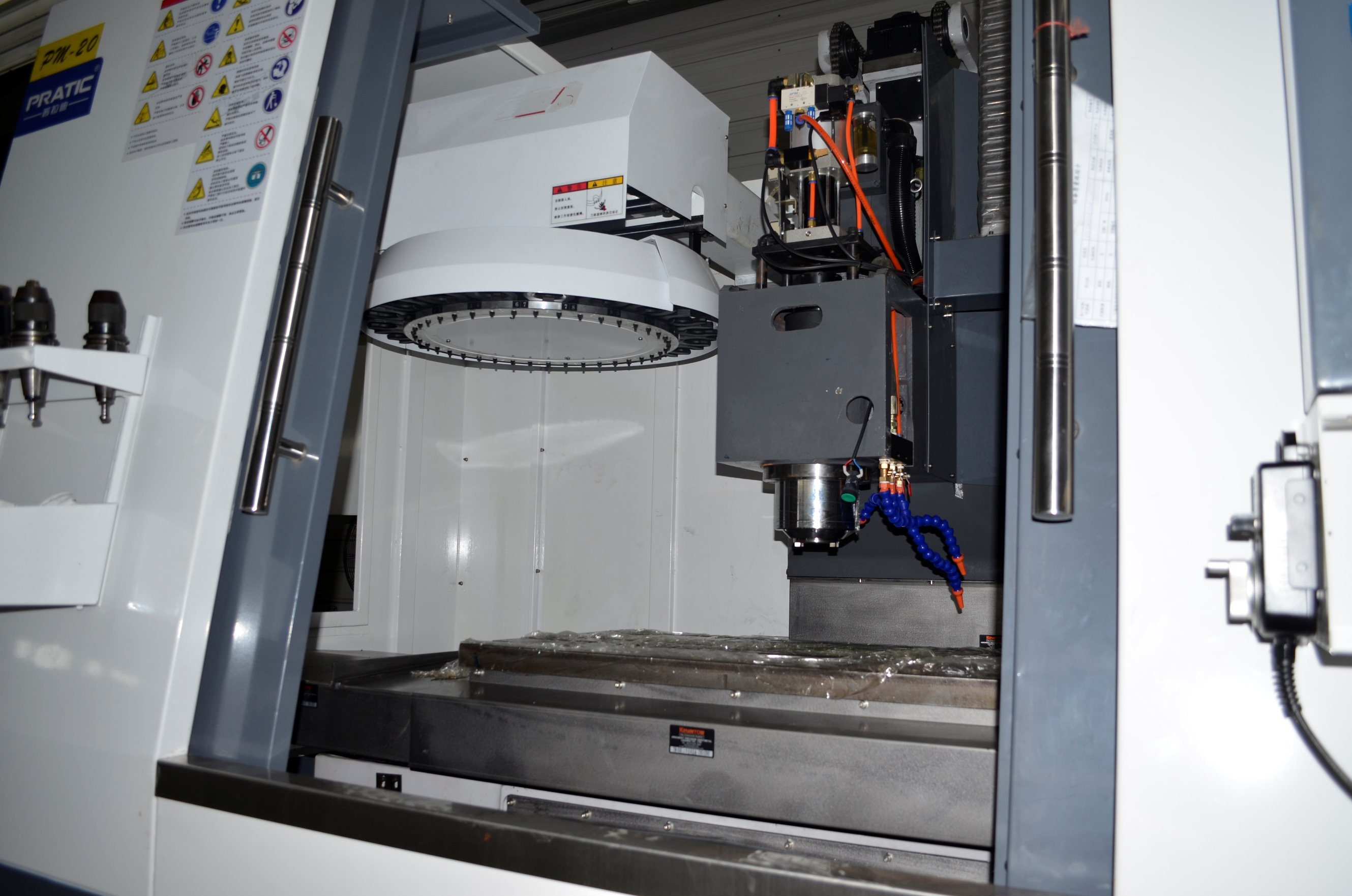 Plastic Wall Milling Machining Center-Pqb-640