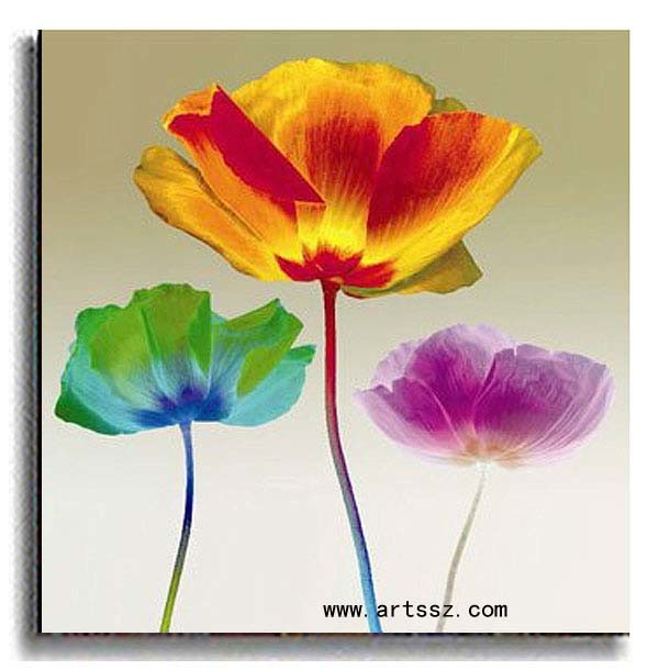 Flower Painting  Oil P...