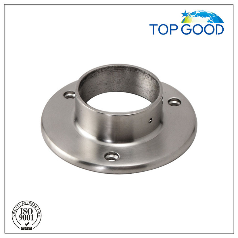Stainless Steel External Round Tube Flange for Railing Post