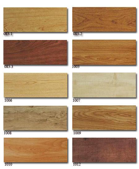 Vinyl Floor Tile Wood Look