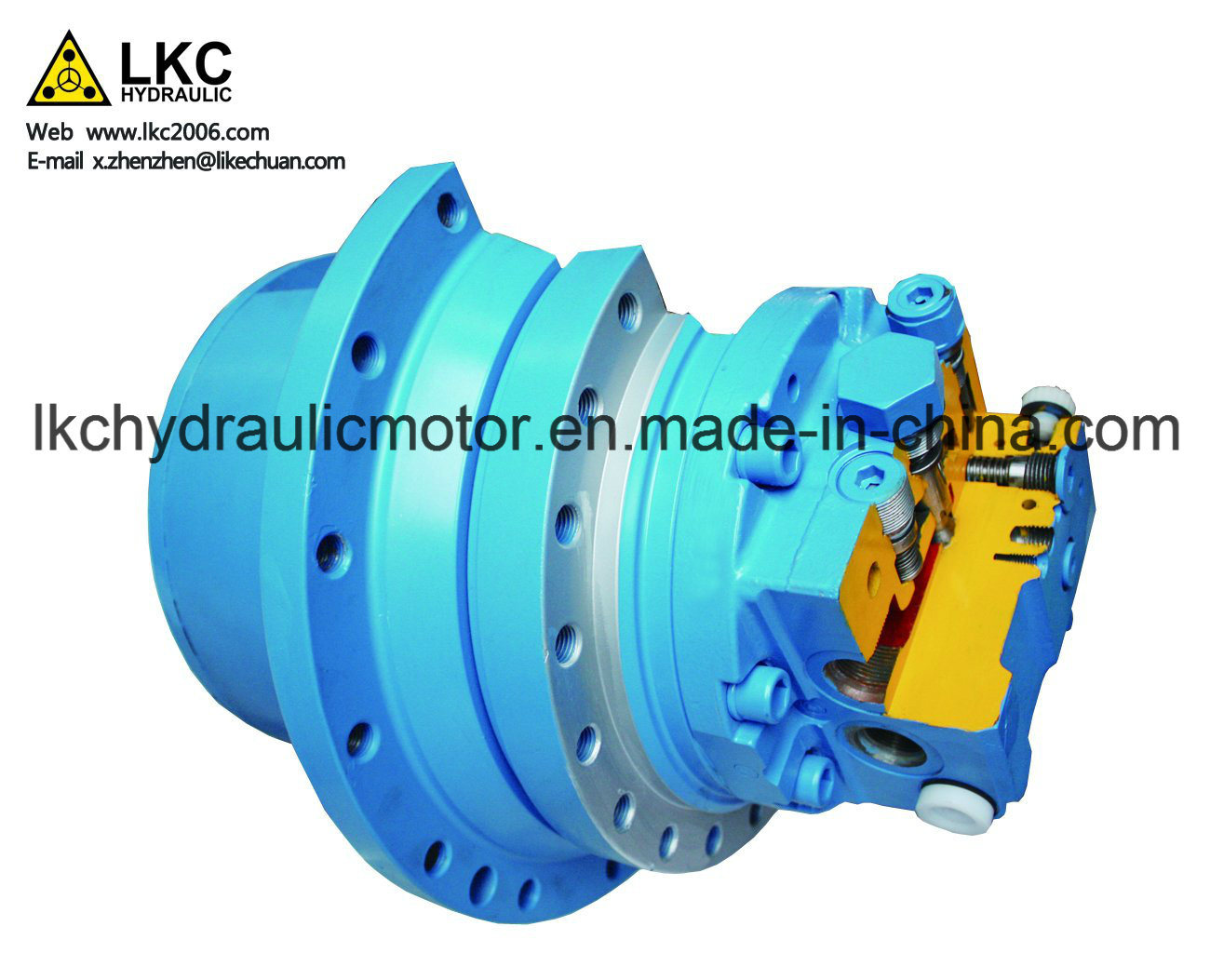 Digger Travel Motor Spare Parts for 9t~11t Crawler Machinery