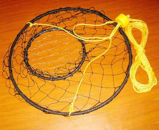 China Crab Rings Fishing Tackles Fishing Nets Crab Trap