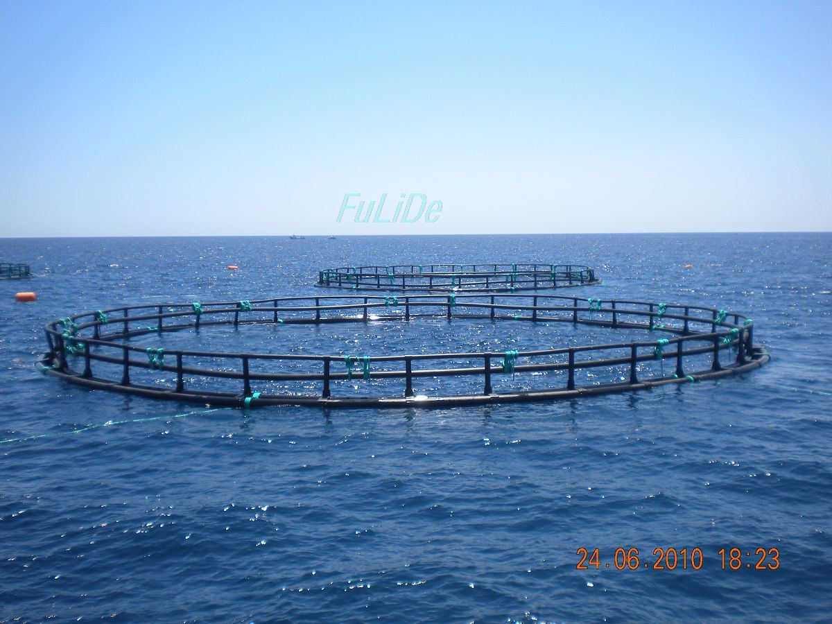 Deep Sea Opening Circular Aquaculture Fish Cage