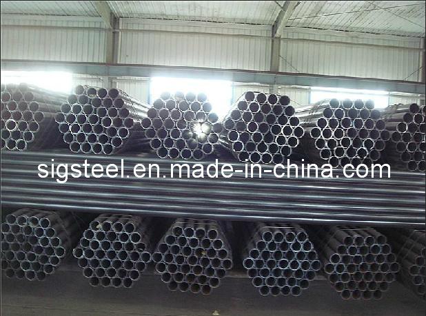 ERW Black Round Steel Pipe Tube