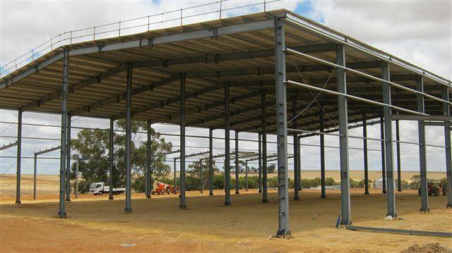 Prefeb Steel Plant/Workshop