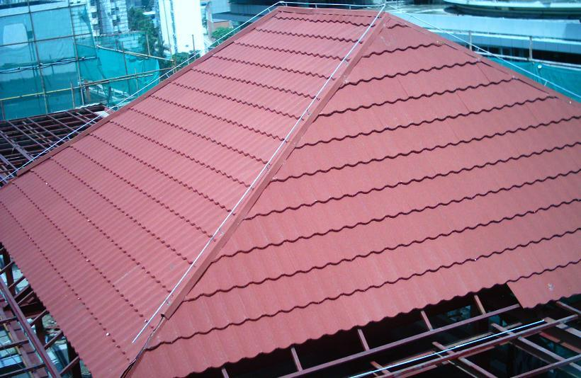 china colorful metal roofing tile china circular roof
