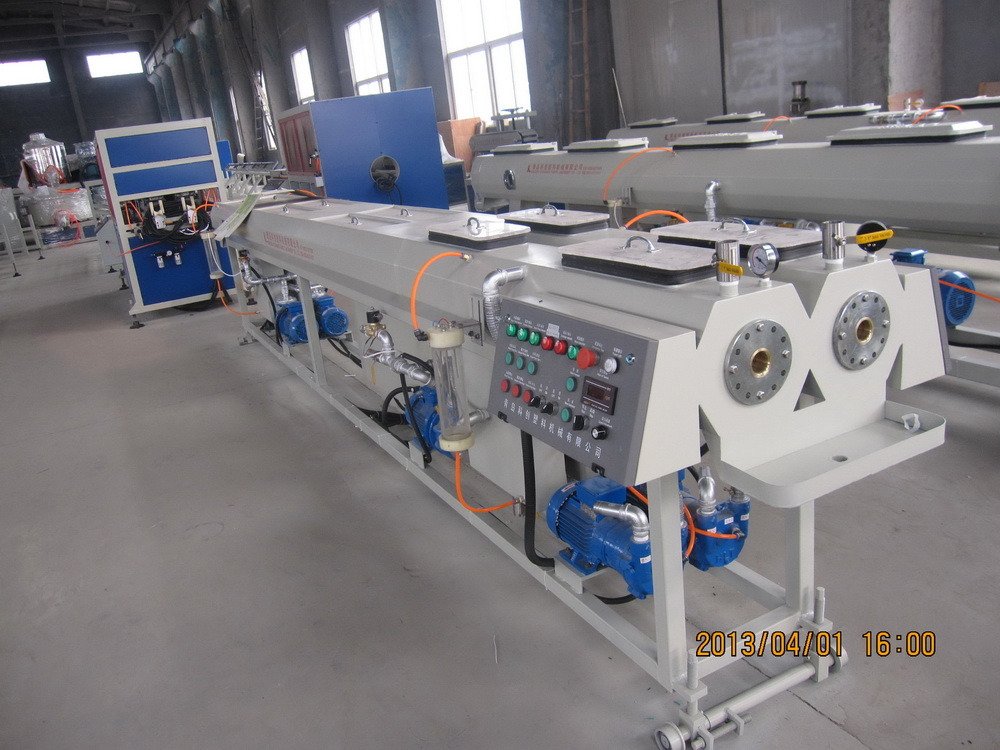 CE Certificate Double Screw Extruder PVC Plastic Extruder PVC Electrical Conduit Pipe Making Machine