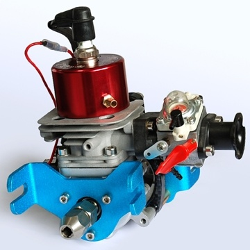 China new crrcpro gw26i 26cc rc boat engine china rc for Gas rc boat motors