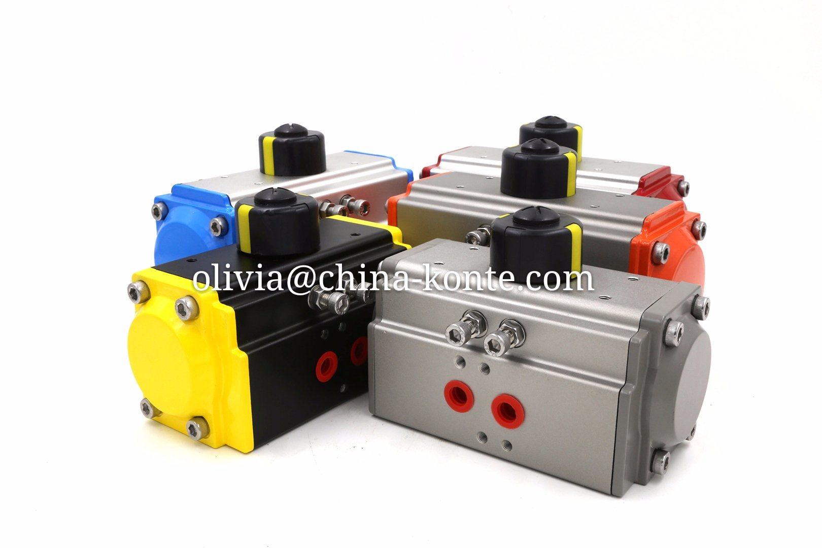 Bt Pneumatic Actuator of Different Seal Material Temperature