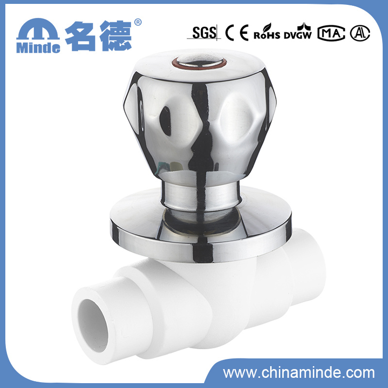 PPR Brass Ball Valve for Water Building Material (PN25)