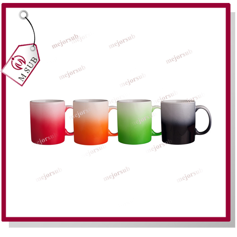 11oz Sublimation Gradient Mug with Custom Photo
