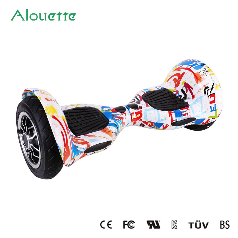 Hottest! ! ! 2016 Christmas Gift! 10 Inch Graffiti Two Wheel Smart Balance Wheel Electric Scooter Hoverboard