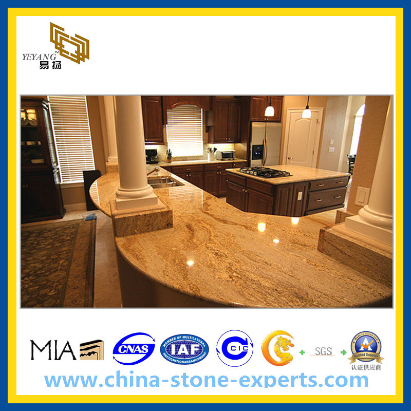 Imperial Gold Granite Kitchen Countertops, Vanity Top