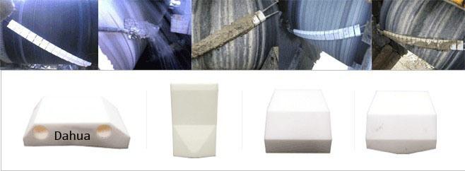 Higher Wear Resisting and Hard Ceramic Belt Scpraper Cleaner